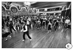 Dancers at the Crystal Ballroom, Portland, OR