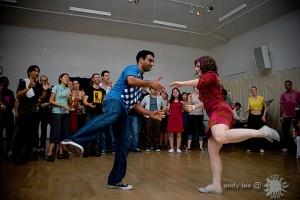 Nathan dancing at the 2010 San Francisco Lindy Exchange