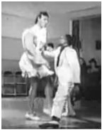 Shorty George Snowden dancing with partner Big Bea