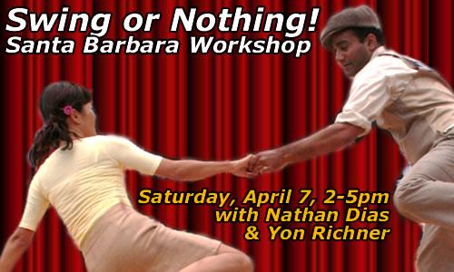 Swing or Nothing Workshop - Yon & Nathan