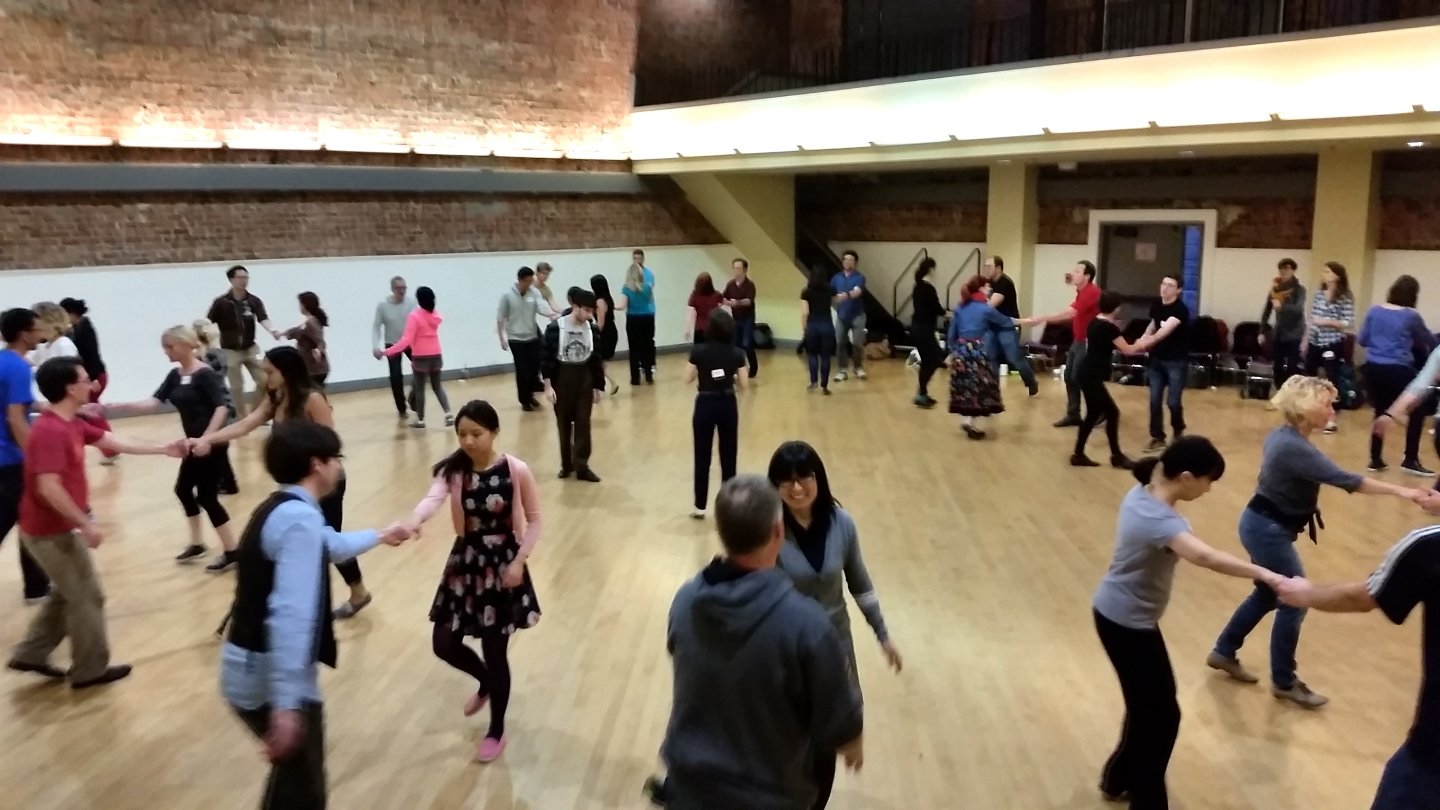 Group dance classes and workshops