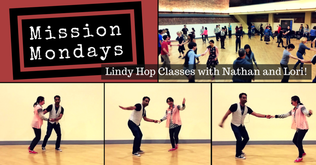 Monday Lindy Hop Classes in the San Francisco Mission