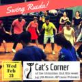 February 21, 2018: One Night Swing Rueda Workshop & Party at Cat's Corner / Ukrainian Hall!