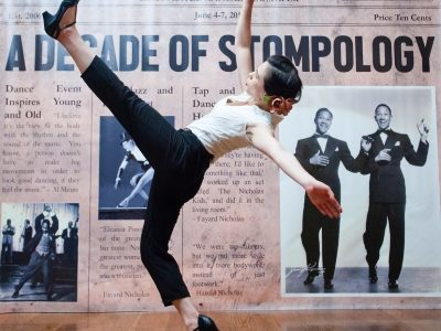 Sunday, April 8th: Jazz and Lindy Hop Workshop with Gaby Cook!